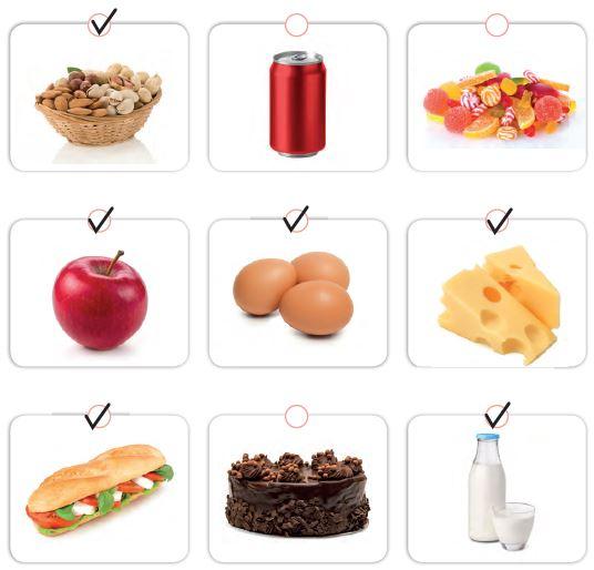 yararlı besinler