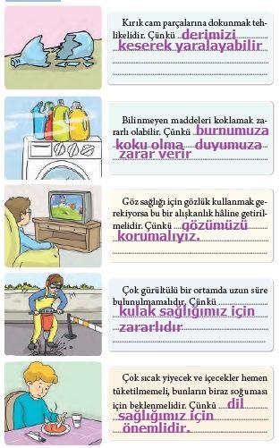 3. Sınıf Fen Bilimleri Tuna Yayınları Ders Kitabı Sayfa 51 Cevapları