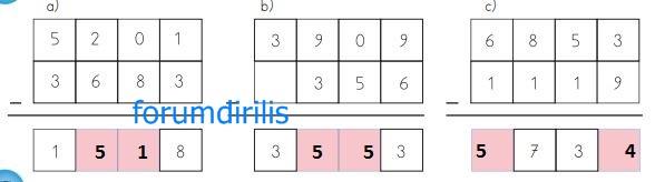 4. Sınıf Matematik Ders Kitabı 44. Sayfa Cevapları MEB Yayınları