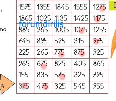 4. Sınıf Matematik Ders Kitabı 30. Sayfa Cevapları MEB Yayınları
