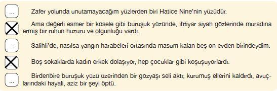 7. Sınıf Türkçe Ders Kitabı Özgün Yayınları 65. Sayfa Cevapları