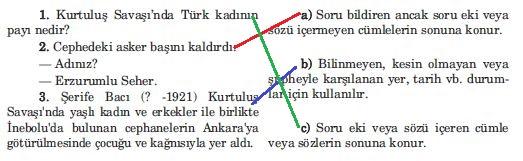 5. Sınıf Türkçe Ders Kitabı Anıttepe Yayınları 45. Sayfa Cevapları
