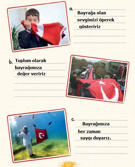 2. Sınıf Türkçe Ders Kitabı 67. Sayfa Cevabı