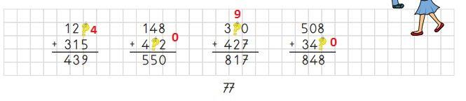 3. Sınıf Matematik Ders Kitabı 77. Sayfa Cevapları MEB