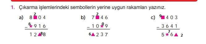 Matematik Ders Kitabı Sayfa 45 Cevapları