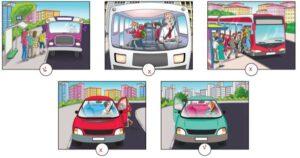 4. Sınıf Trafik Güvenliği Ders Kitabı Sayfa 42