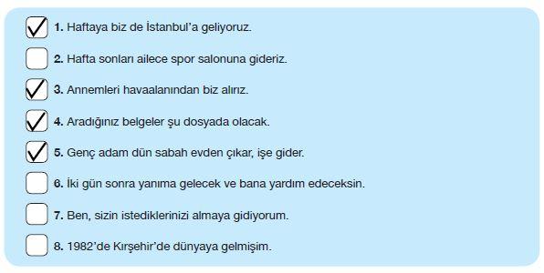 7. Sınıf Türkçe Ders Kitabı Özgün Yayınları 121. Sayfa Cevapları