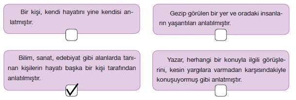 7. Sınıf Türkçe Ders Kitabı Özgün Yayınları 115. Sayfa Cevapları