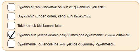 7. Sınıf Türkçe Ders Kitabı Özgün Yayınları 84. Sayfa Cevapları