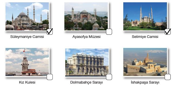 Mimar Sinan'a ait olan eserler