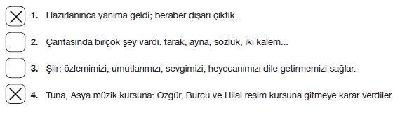 7. Sınıf Türkçe Ders Kitabı Özgün Yayınları 101. Sayfa Cevapları