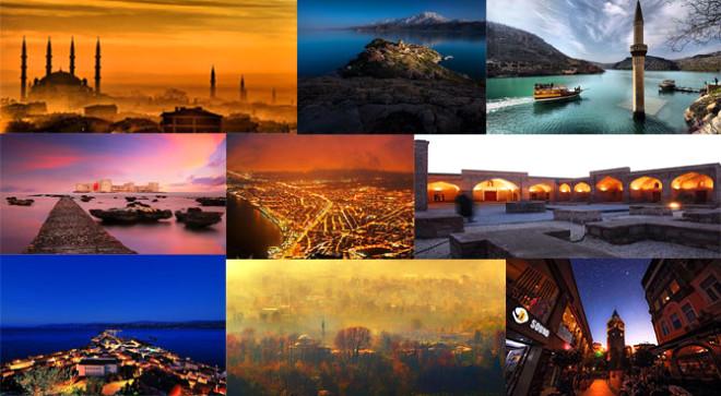 Türkiye'nin tarihî ve doğal güzelliklerini tanıtan bir broşür