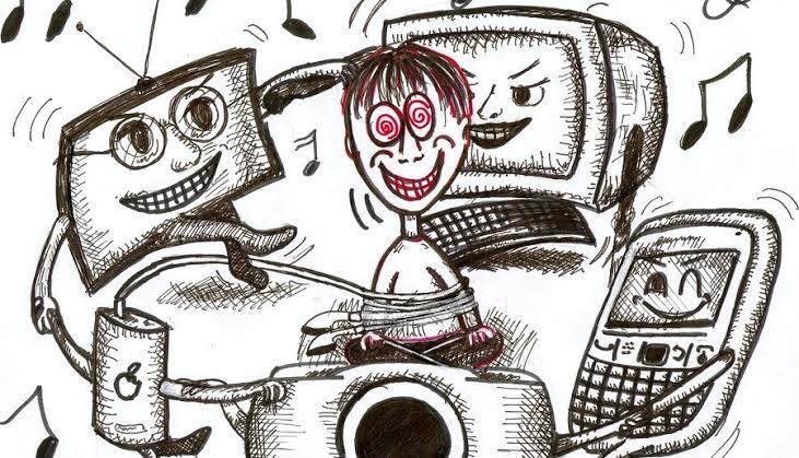 teknolojinin zararları