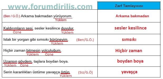 8. Sınıf Türkçe Ders Kitabı MEB Yayınları 120. Sayfa Cevapları