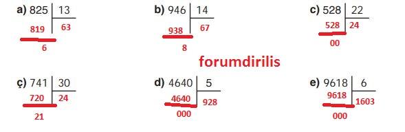 4. Sınıf Ata Yayınları Matematik 119. Sayfa Cevapları