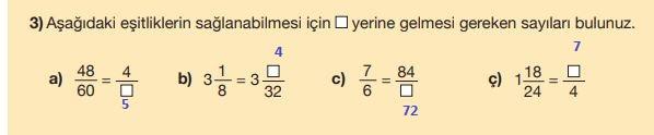 5. Sınıf Matematik Ders Kitabı 106. Sayfa Cevapları MEB