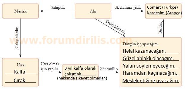 7. Sınıf Sosyal Bilgiler Ders Kitabı Ekoyay Yayınları 169. Sayfa Cevapları
