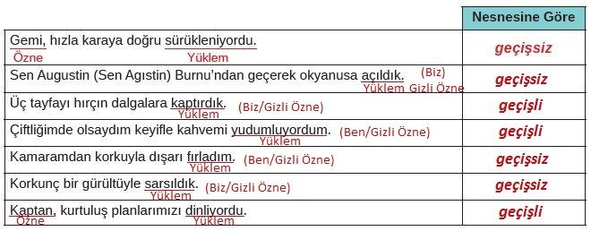 8. Sınıf Türkçe Ders Kitabı MEB Yayınları 171. Sayfa Cevapları