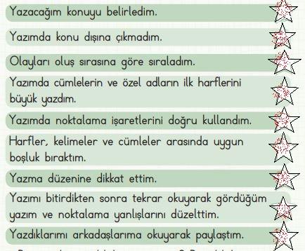 2. Sınıf Türkçe Ders Kitabı 105. Sayfa Cevabı