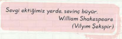 2. Sınıf Türkçe Ders Kitabı 122. Sayfa Cevabı