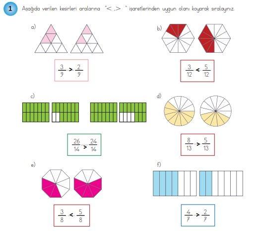 4. Sınıf Matematik Ders Kitabı 145. Sayfa Cevapları