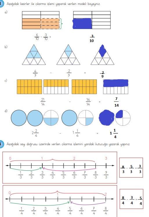 4. Sınıf Matematik Ders Kitabı 150. Sayfa Cevapları
