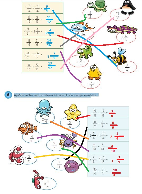 4. Sınıf Matematik Ders Kitabı 151. Sayfa Cevapları