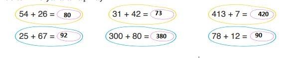 3. Sınıf Matematik Ders Kitabı 69. Sayfa Cevapları
