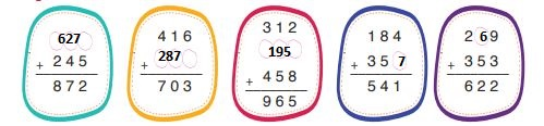 3. Sınıf Matematik Ders Kitabı 98. Sayfa Cevapları
