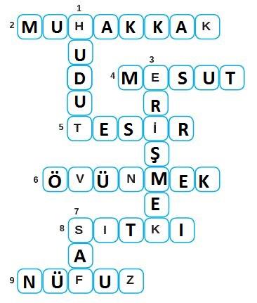 8. Sınıf Türkçe Ders Kitabı MEB Yayınları 187. Sayfa Cevapları