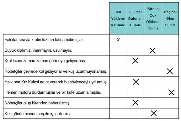 8. Sınıf Türkçe Ders Kitabı MEB Yayınları 205. Sayfa