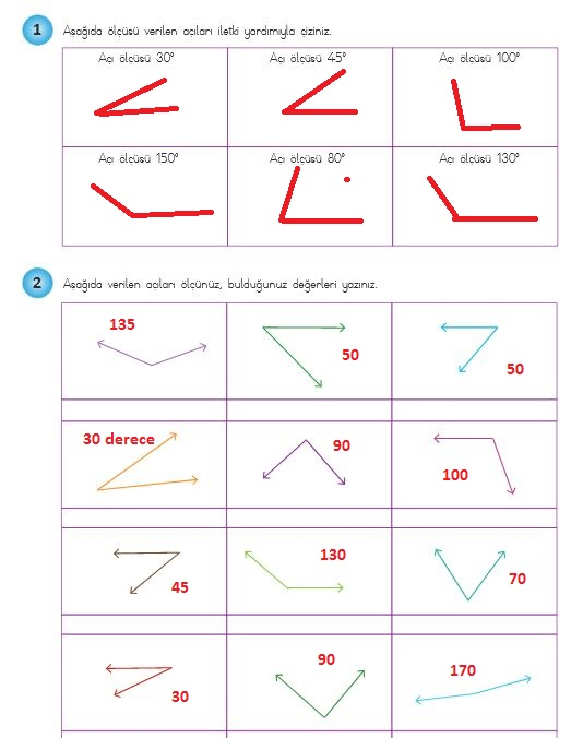 4. sınıf matematik sayfa 215 cevapları