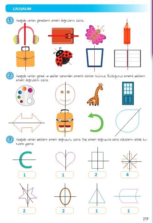 simetri cevapları
