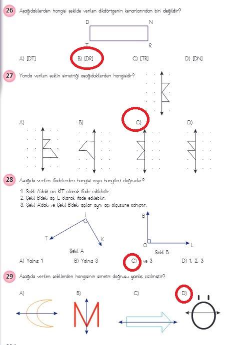 4.sınıf matematik 236.sayfa cevapları meb yayınları