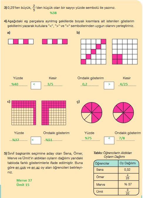 5.sınıf matematik 179.sayfa cevapları meb yayınları