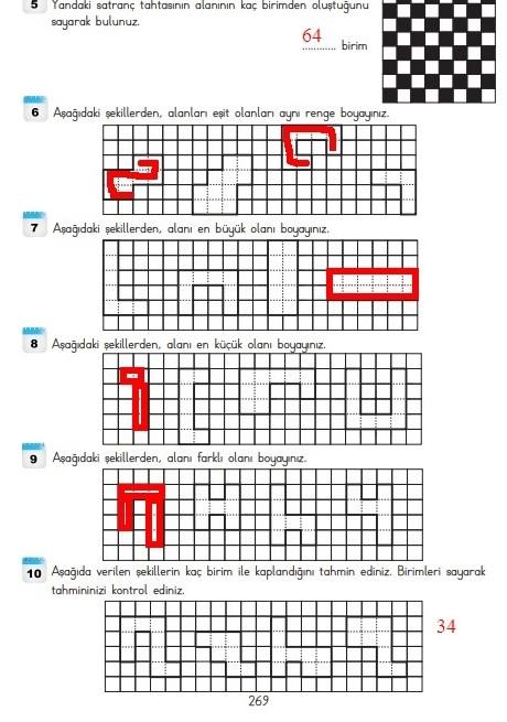 3.sınıf matematik 269.sayfa cevapları meb yayınları