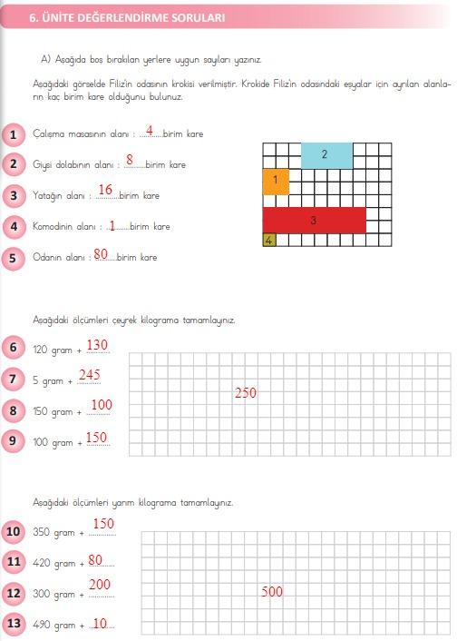 4.sınıf matematik 282.sayfa cevapları meb yayınları