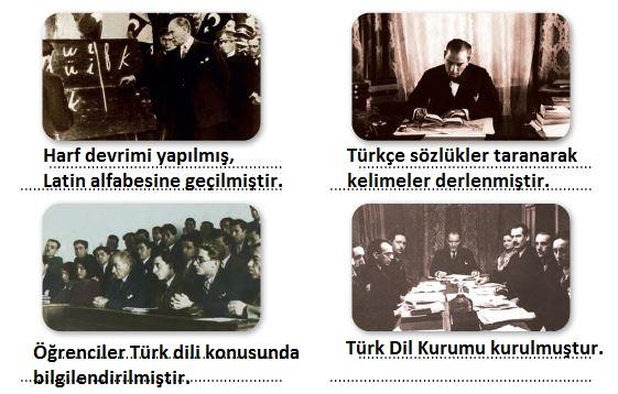 4. Sınıf Türkçe Ders Kitabı 51. Sayfa Cevapları