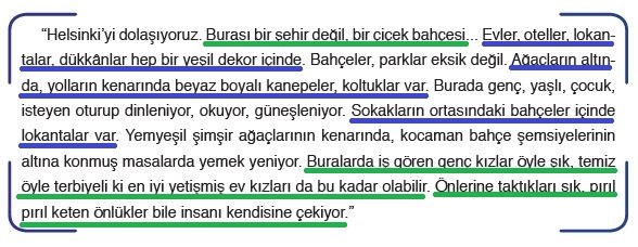 6. Sınıf Türkçe Ders Kitabı 41. Sayfa Cevapları